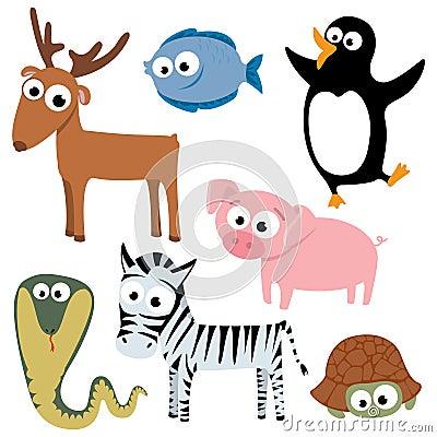 Free Cute Animals Royalty Free Stock Photo - 11400345