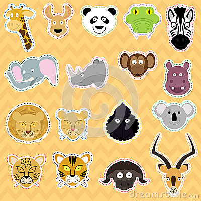 Cute  Animals - Illustration set