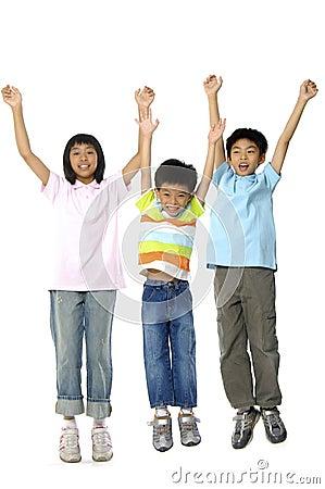Free Cute Asian Kids Royalty Free Stock Image - 5233896