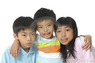 Cute Asian kids
