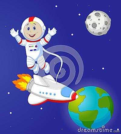 cute astronaut cartoon stock vector image 45759579 friendly clipart girl friendly clip art friend in tree hole