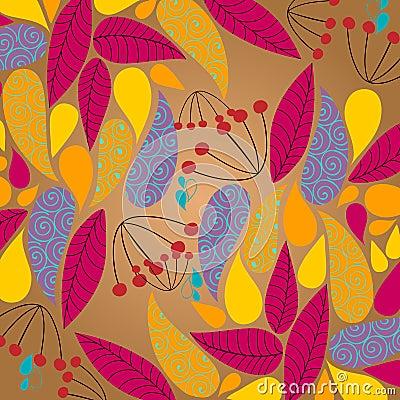 Cute autumn illustration
