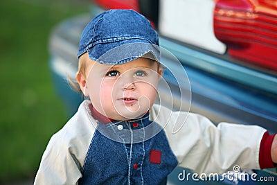 Cute baby boy