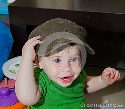 Cute Baby with a cap