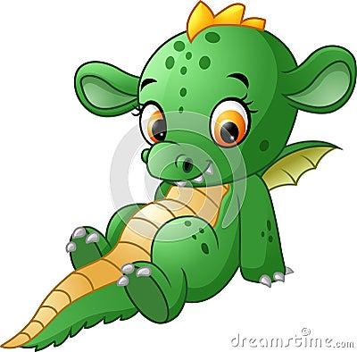 Free Cute Baby Dragon Royalty Free Stock Photos - 76227508