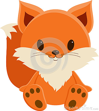 Free Cute Baby Fox Stock Photography - 42700132