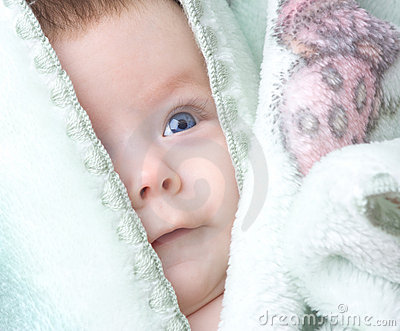 Cute baby infant