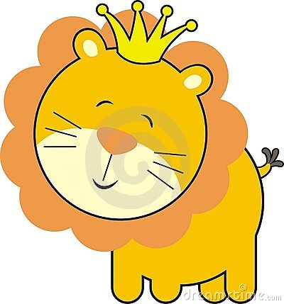 Cute Baby Lion King Royalty Free Stock Photos Image 8848288