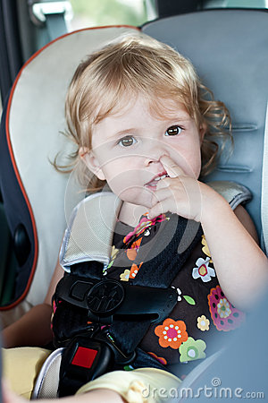 Free Cute Baby Picks His Nose Stock Photography - 31747182