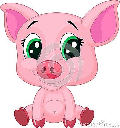 - cute baby pig cartoon illustration 34605655 - Tử vi tháng 1/2018 và vận mệnh của 12 con giáp trong tháng này