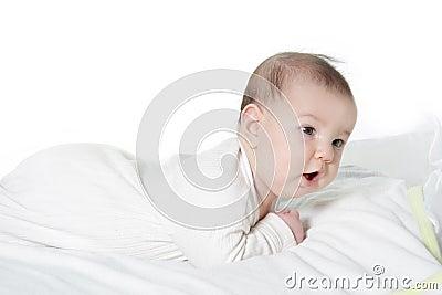 Cute baby portrait