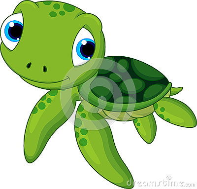 Free Cute Baby Turtle Royalty Free Stock Photo - 36083555