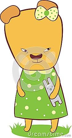 Cute bear cub