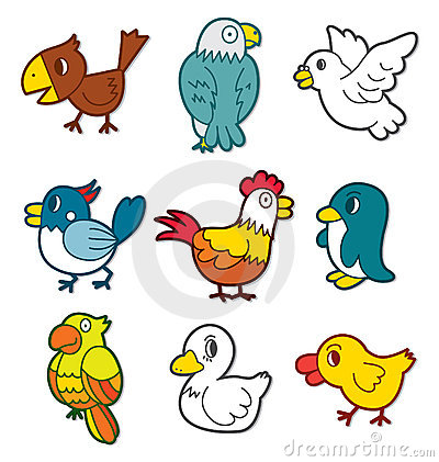 Free Cute Bird Icon Royalty Free Stock Images - 16574199