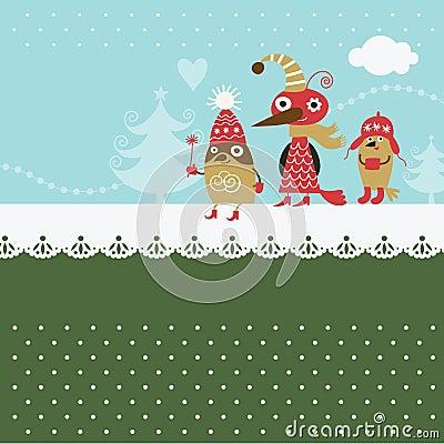 Free Cute Birds Stock Photography - 21141632