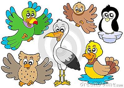 Cute birds collection 2