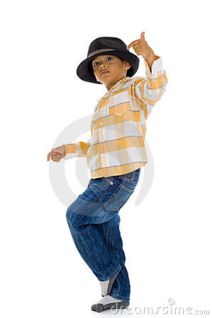 Free Cute Boy Dancing Royalty Free Stock Image - 12313816