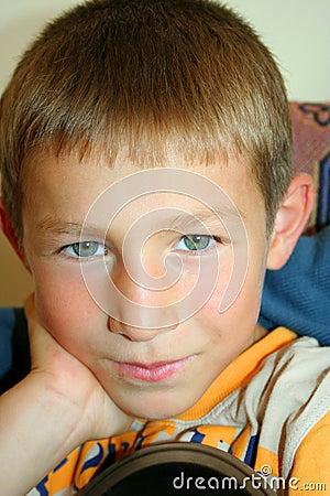 Cute boy portraits