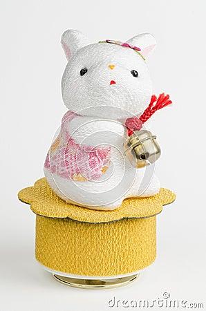 Cute Bunny Music Box