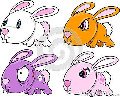Cute Bunny Rabbit Set