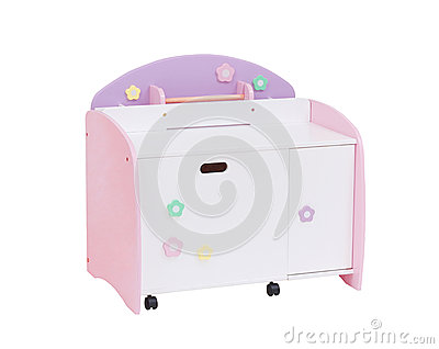 A cute cabinet for children