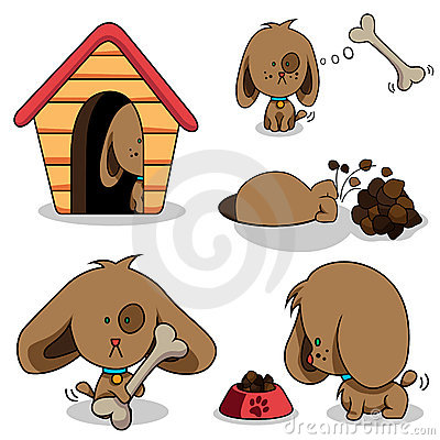 Free Cute Cartoon Dog Stock Photo - 18237980