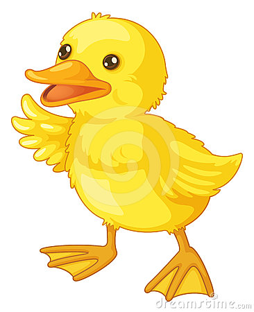 Free Cute Cartoon Duck Stock Images - 24414954