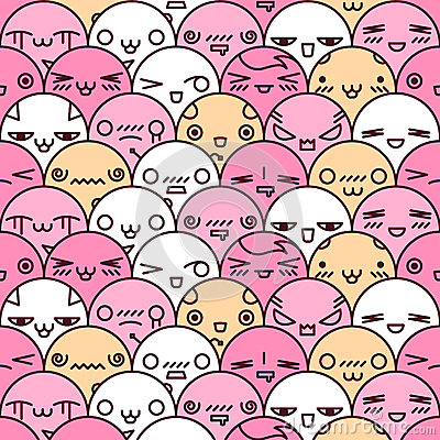 Free Cute Cartoon Seamless Pattern Stock Images - 31556384