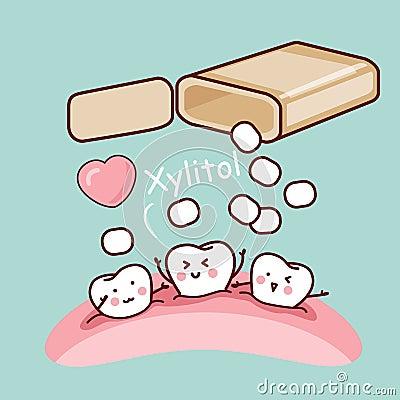 Free Cute Cartoon Tooth Stock Photos - 63247603