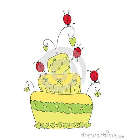 Cute casual cake
