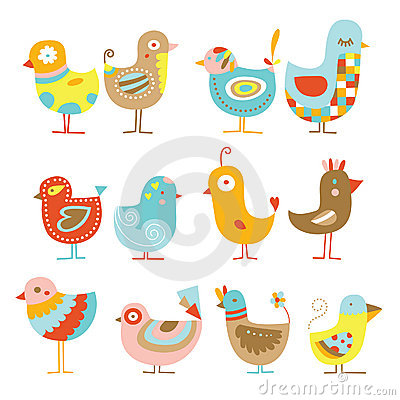 Free Cute Chickens Royalty Free Stock Photos - 15320558