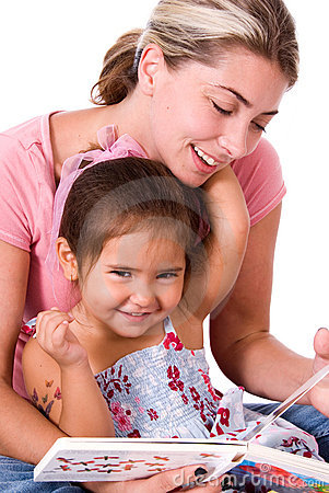 Free Cute Child And Mom. Stock Photos - 4092463