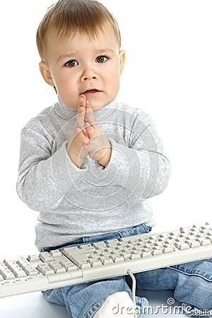 Clipart Woman At Computer