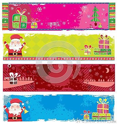 Cute Christmas banners