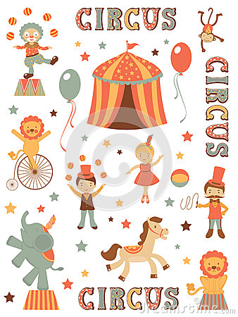 Cute circus