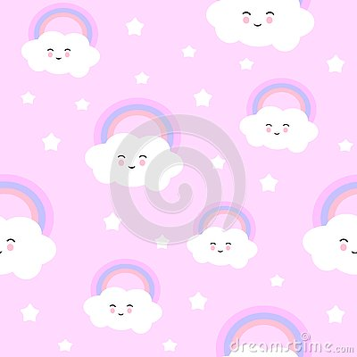 Cute cloud Stock Photo
