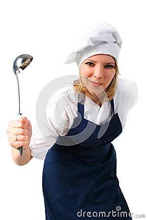 Cute cook