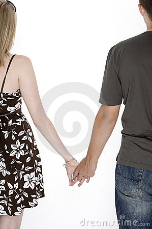 cute couples holding hands anime
