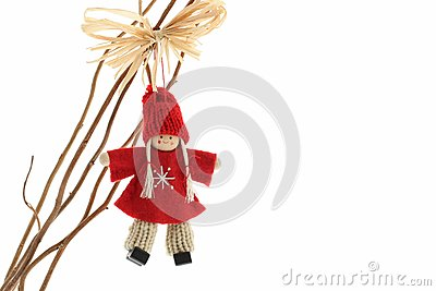 Cute Crochet angel christmas decoration