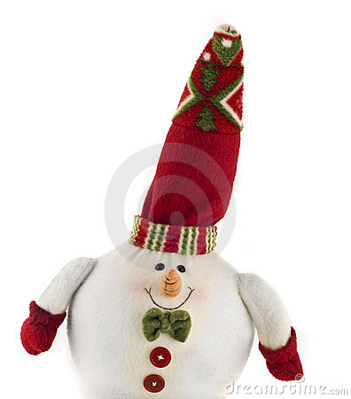 Cute cuddly Christmas decoration toy