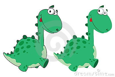 Cute dino cartoon