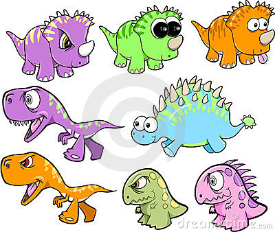 Cute Dinosaur Set