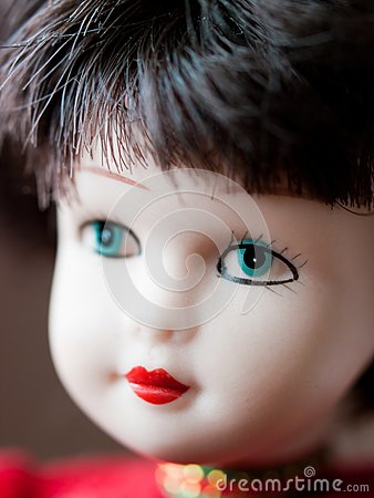 Cute doll portrait