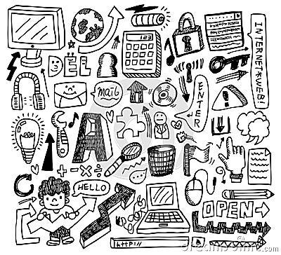 Cute doodle web