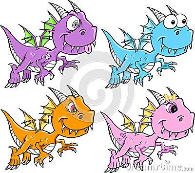 Cute Dragon Set