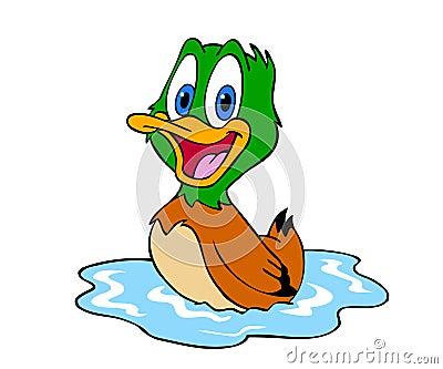 Cute Duck