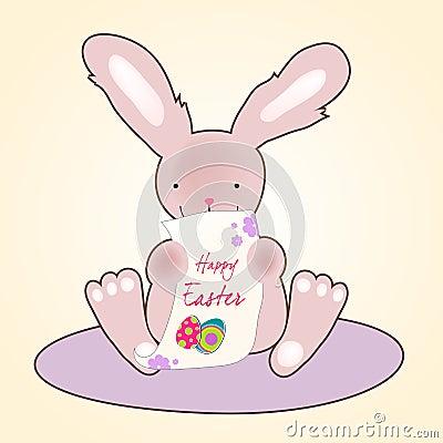 Cute Easter bunny