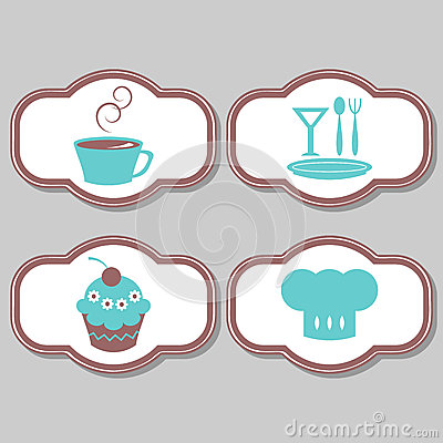 Cute elements for restaurant