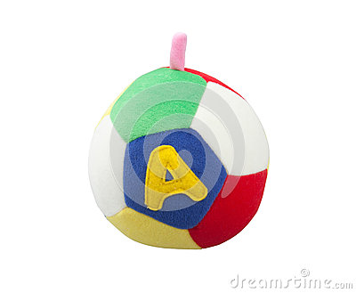 Cute fabric ball toy
