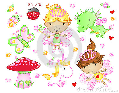 Cute Fairy Princess set